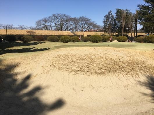 熊谷ゴルフクラブ-バンカー練習場